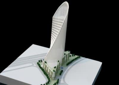 Eksempel på en arkitektmodell 318